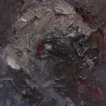 Study for a Head I - Oil on Wooden  Panel - 22x16cm