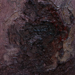 Study for a Head V - Oil on Wooden  Panel - 22x16cm