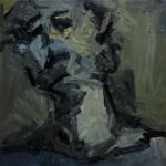 2016 - Self-portrait Through the Mirror III – Oil on Canvas – 60x60cm