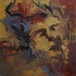 2016 - Cabeza de E.V.G. durmiendo - Óleo sobre lienzo 60x60cm