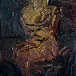 2016 - Study for a seated Figure - Oil on Canvas - 55x33cm