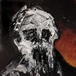 Universe 26 - Defacing the Idols LXIII- Oil and Mixed Media on Photographic Paper - 12,7x12,7cm