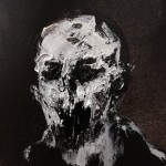 Universe 26 - Defacing the Idols LXIX- Oil and Mixed Media on Photographic Paper - 12,7x12,7cm